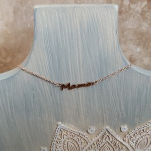 Jewelry - MAMIE Rose Gold Mama Necklace